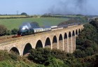 Steam Train on the Viaduct